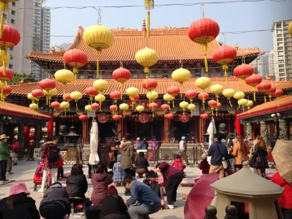 Sik Sik Yuen Temple Hong Kong