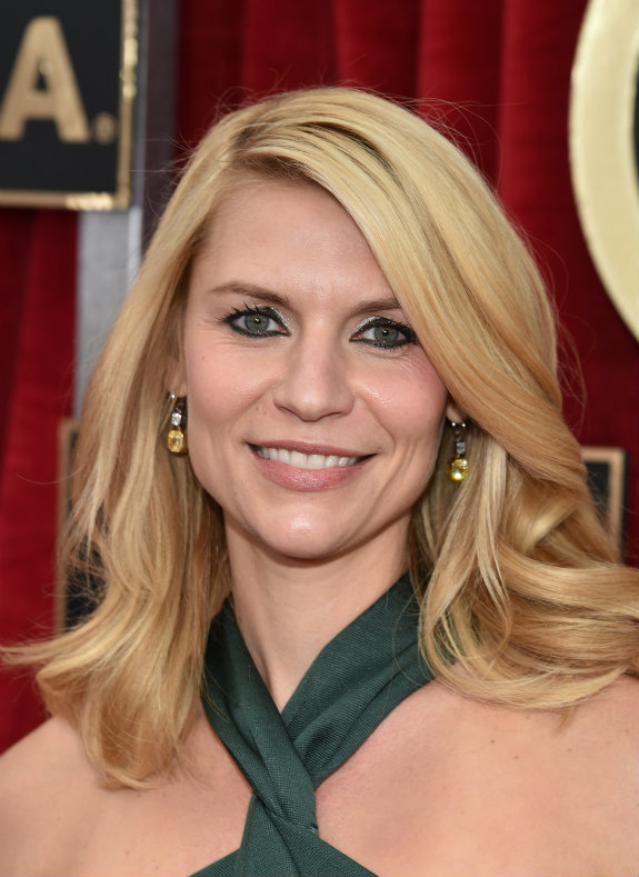 Claire Danes SAG awards 2015 hair