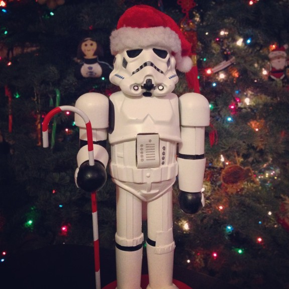 Storm Trooper nutcracker