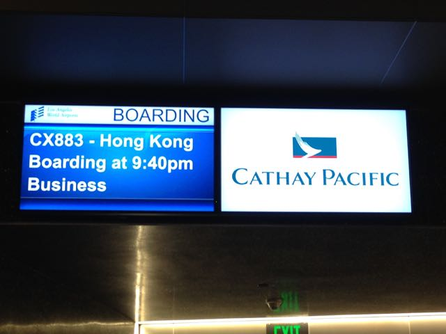Hong Kong Cathay Pacific