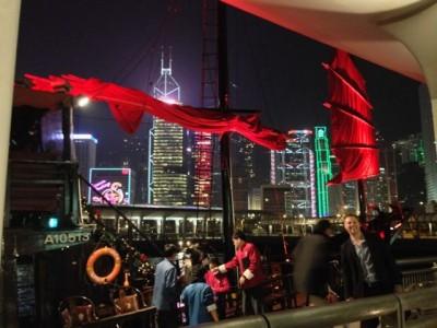 Hong Kong junk boat 2