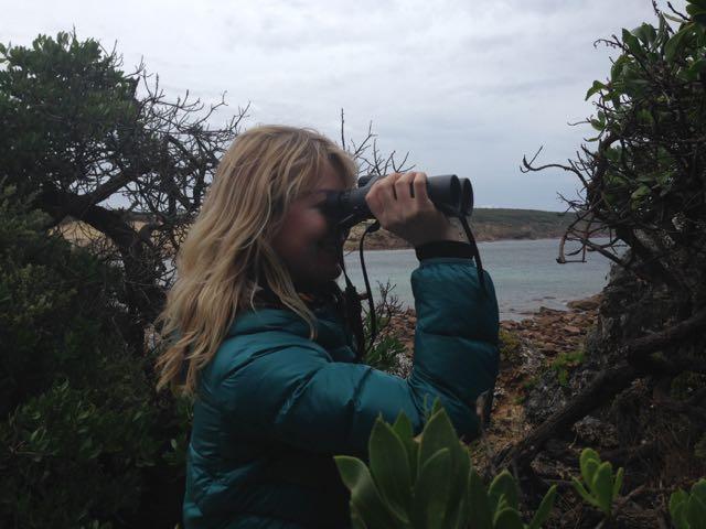 Kangaroo island binoculars