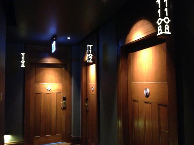 QT hotel hallway
