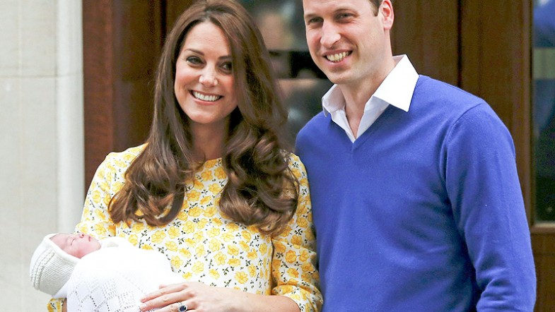 Duchess Kate gives birth to a girl